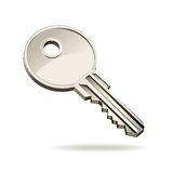 Vector key Royalty Free Stock Photo