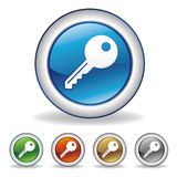 Vector key icon Stock Photography