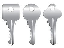 Vector keys Stock Photos