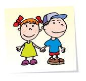 Vector Kinder Lizenzfreie Stockbilder