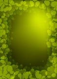 Vector klaverachtergrond voor St. Patrick Day Royalty-vrije Stock Foto