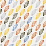 Vector Kleurrijk abstract retro patroon 08 Stock Fotografie