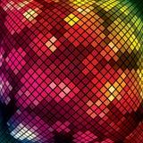 Vector kleurrijk mozaïek Stock Foto's