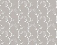 Vector Kleurrijk Naadloos Patroon met Getrokken Bloemen Royalty-vrije Stock Fotografie