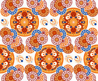Vector kleurrijk patroon Royalty-vrije Stock Foto's
