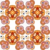 Vector kleurrijk patroon Royalty-vrije Stock Foto