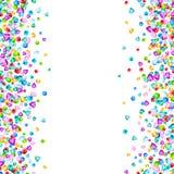 Vector kleurrijk van gemstenen element als achtergrond in vlakke stijl stock illustratie
