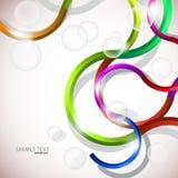 Vector kleurrijke abstracte achtergrond. Royalty-vrije Stock Foto's