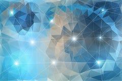 Vector kleurrijke achtergrond Stock Afbeelding