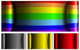 Vector kleurrijke achtergrond met plaats voor uw tex Stock Foto's