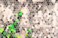 Vector kleurrijke gebrandschilderd glastextuur Royalty-vrije Stock Foto's