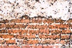 Vector kleurrijke gebrandschilderd glastextuur Stock Fotografie