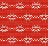 Vector knitted background. Royalty Free Stock Image