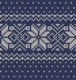 Vector knitted background Stock Photos