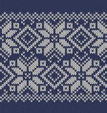 Vector  knitted background Royalty Free Stock Image