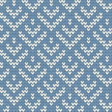 Vector knitted background, seamless Royalty Free Stock Image