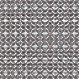 Vector knitted pattern Royalty Free Stock Photos