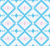 Vector knitted seamless background. Stock Photo