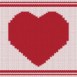 Vector knitting background Stock Photography
