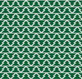 Vector knitting seamless background: geometric pattern Royalty Free Stock Image