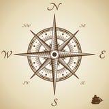 Vector kompas Royalty-vrije Stock Foto