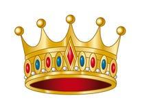 Vector kroon Royalty-vrije Stock Fotografie