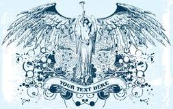 Vector l'angelo royalty illustrazione gratis