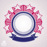 Vector l'elemento di progettazione corporativa, wi celebrative dell'emblema di web delle stelle Fotografie Stock