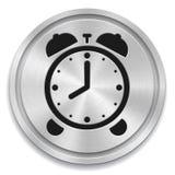 Bottone della sveglia Fotografie Stock