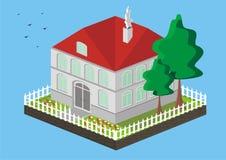 Vector l'illustrazione della casa Immagine Stock Libera da Diritti