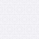 Vector l'illustrazione di un modello senza cuciture dei quadrati Fotografie Stock