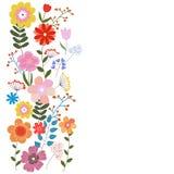 Vector l'illustrazione floreale Fotografie Stock