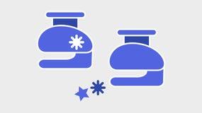 Vector l'immagine di perforazione blu su un fondo leggero illustrazione di stock