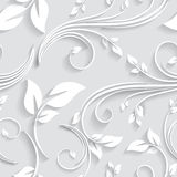 Vector l'invito senza cuciture vittoriano floreale del fondo, le nozze, modello decorativo delle carte di carta Immagini Stock
