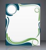 Vector l'opuscolo di affari della disposizione, la copertura di rivista, il web, o la pubblicità del modello di progettazione cor illustrazione vettoriale