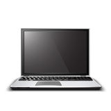Vector la computadora portátil Fotos de archivo libres de regalías