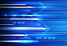 Vector la falta de definición abstracta de la velocidad y de movimiento, ciencia, futurista, fondo de la tecnología de energía Fotos de archivo libres de regalías