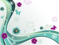 Vector la ilustración de la flor Fotos de archivo libres de regalías