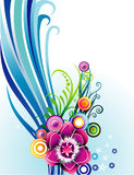 Vector la ilustración de la flor Foto de archivo