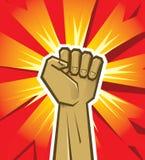 Vector la mano de la revolución Fotografía de archivo libre de regalías