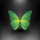 Vector la mariposa brillante Foto de archivo libre de regalías