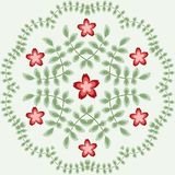 Vector la plantilla para la carpeta, tarjeta de visita y Imágenes de archivo libres de regalías