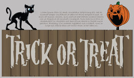 Vector la priorità bassa di Halloween Fotografia Stock
