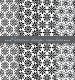 Vector la priorità bassa senza giunte del reticolo del damasco campioni inclusi per l'illustratore, campioni del modello Fotografia Stock Libera da Diritti