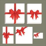 Vector la raccolta di spostamento di regalo Fotografie Stock