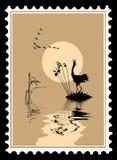 Vector la silueta de los pájaros stock de ilustración