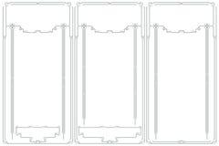Vector la struttura astratta dalle linee rilegate per la decorazione e progetti Fotografie Stock