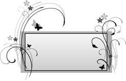 Vector la tarjeta ornamental Foto de archivo libre de regalías
