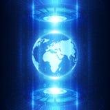 Vector la tecnología de comunicación global digital, fondo abstracto libre illustration
