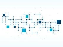 Vector la tecnología de diseño, red, médica, fondo del negocio Fotografía de archivo libre de regalías